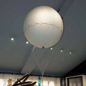 T7 _ Air Raids and the Citizens of Tokyo _ Balloon Bomb (reconstructed model)